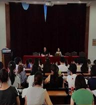自力教育松江事业单位心理疏导现场