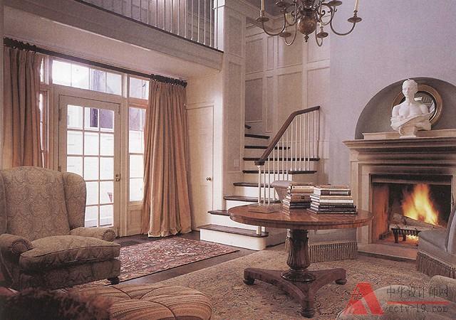 新古典主义风格装修效果图欣赏-无锡室内设计培训